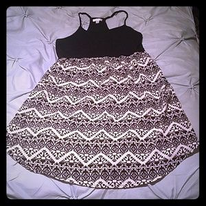Black/White Sumer Dress